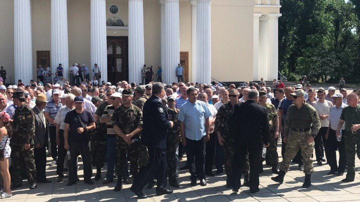 Hundreds veterans rallied in the Center of Capital. They condemn Dodon's betrayal (VIDEO/PHOTO)