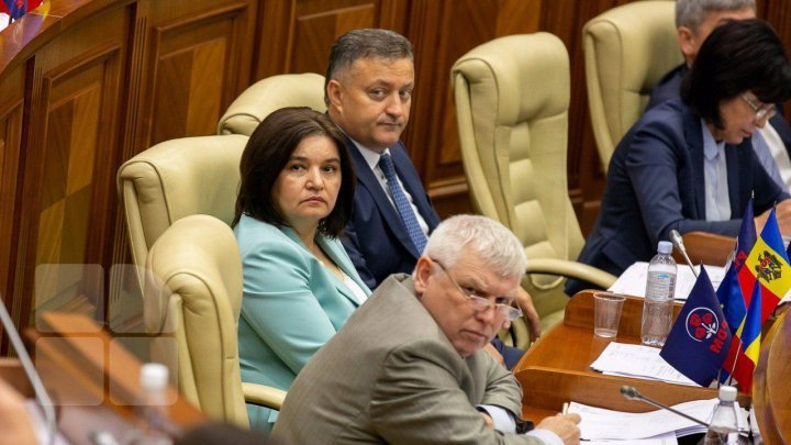 Monica Babuc is the vice president of the Parliament