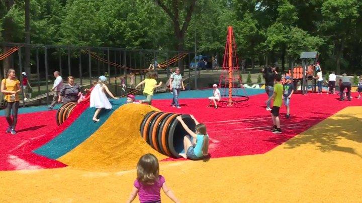 Children's Day: Modern sport complex opened in Rose Valley