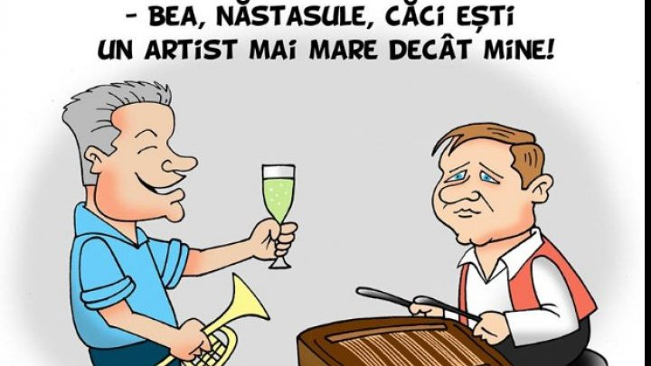 Jurnal de Chisinau ridicule Andrei Nastase: Nastase, you are an artist!
