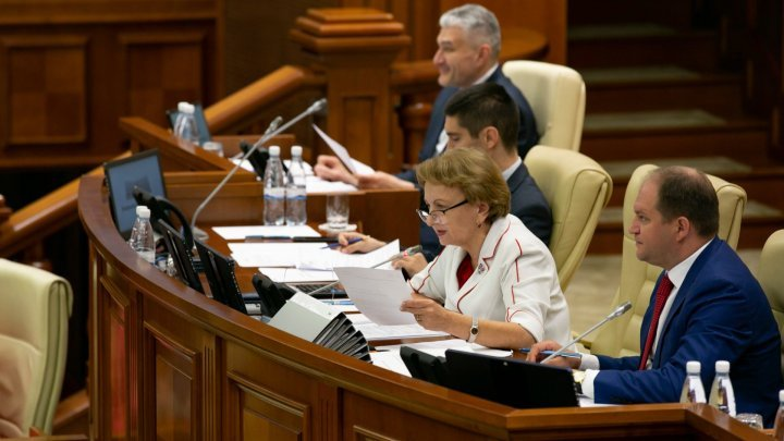 Marina Tauber said Zinaida Greceanii doesn't deserve the Parliament's President function because her husband is mentioned in the Kroll 2 report. PSRM's rection