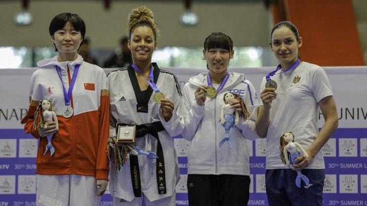 Moldovan Taekwondo fighter conquered bronze medal at the World Universiade