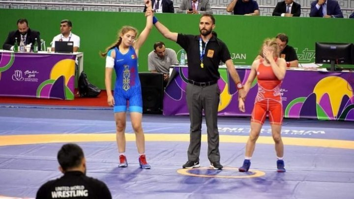 Fighter Mihaela Samoil conquered bronze medal at European Youth Olympic Festival