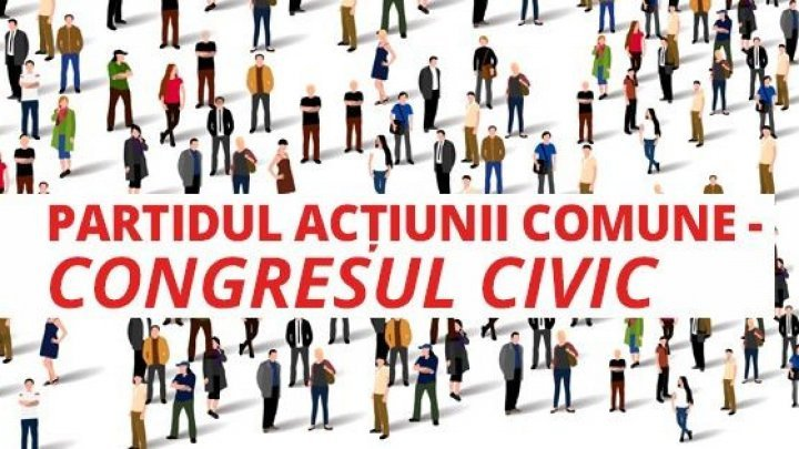 Who are founders of new party Collective Action - Civic Congress in Moldova?