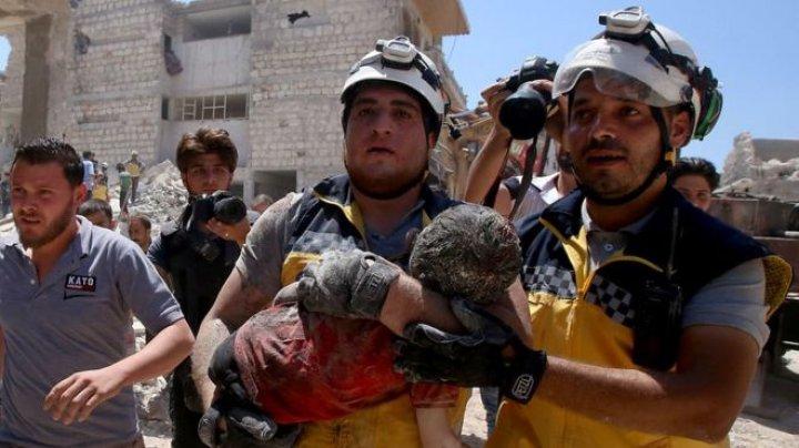 Syria war: 103 civilians including 26 children killed in 10 days