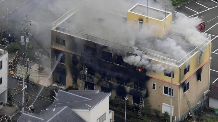 'You die!' were the last words that heard at least 70 people before their anime studio exploded