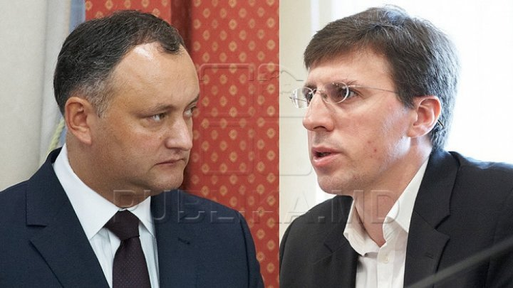 Liberal leader Chirtoacă claimed President Dodon grabbed continually Russian money