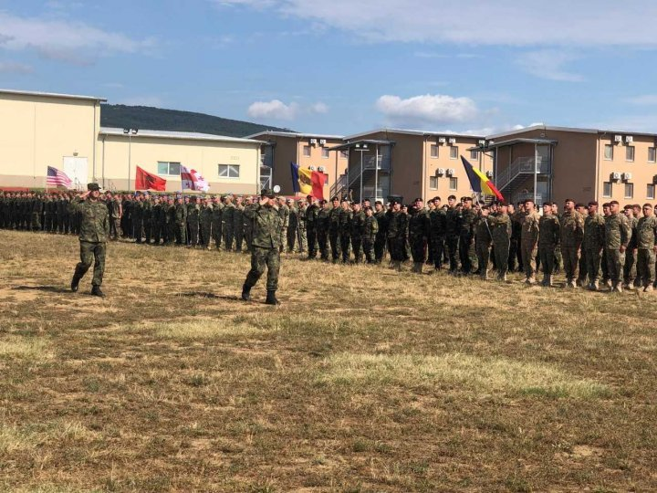 National Army takes part in multi-national exercise Platinum Lion 2019