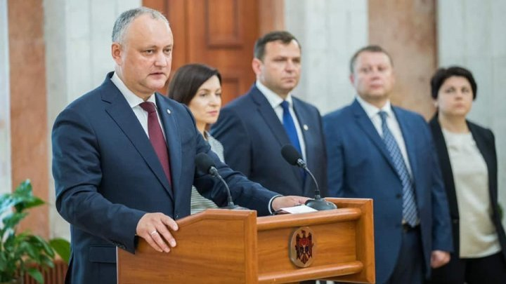 Problems in PSRM-ACUM Alliance. Igor Dodon doesn't want an European General prosecutor