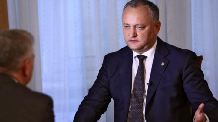 Igor Dodon insists on signing the new agreement between PSRM and ACUM Block