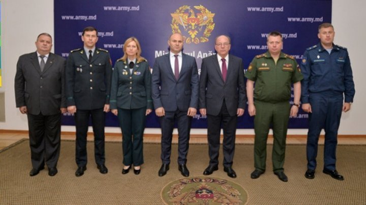 The Defense Minister Pavel Voicu had a meeting with the Russian ambassador Oleg Vasnetov. Which was the discussions' subject