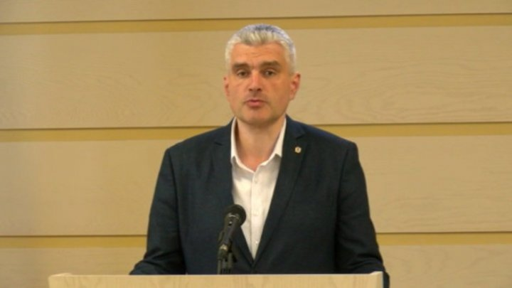 Alexandru Slusari reconfirms that they don't have money for salaries and hopes the situation to change after the macro-financial assistance will be unblocked