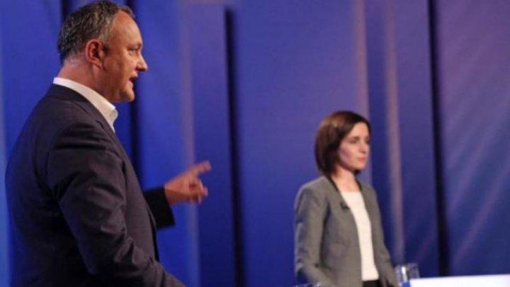 When will Sandu-Dodon election debate take place?