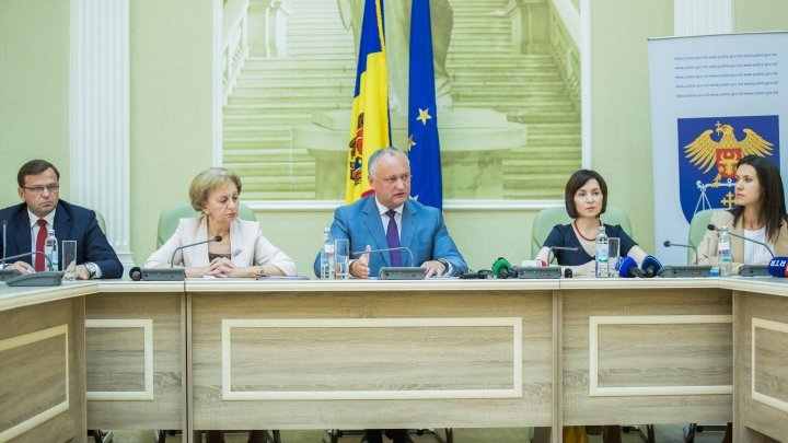 ACUM-PSRM fight for General Prosecutor position. Alliance leaders presented justice reform concept