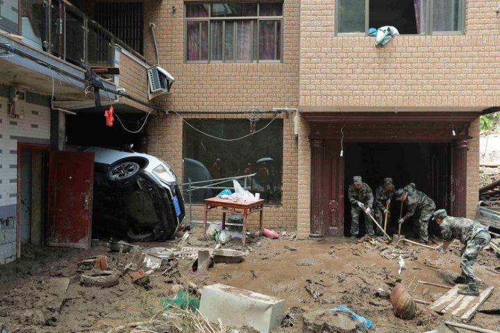 Deadly Typhoon Lekima kills dozens in China