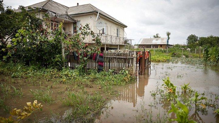 Rainfalls wreak havoc in the Southern side households of Moldova