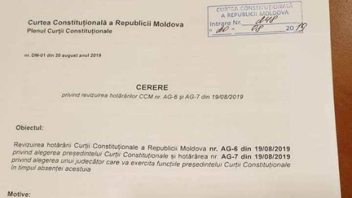 Domnica Manole requests CC review Vladimir Ţurcan's appointment
