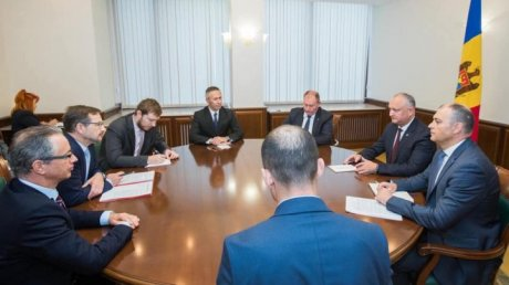 Dodon discussed with OSCE secretary-general destruction of Russian ammunition in Cobasna