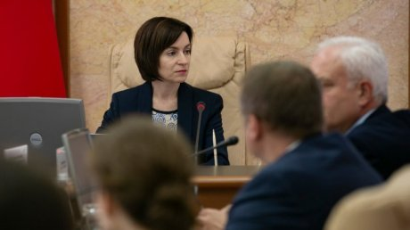 Dismissed Government and PM Maia Sandu in the last Cabinet meeting