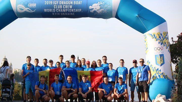 Moldova's Vulturii won three gold medals and two silver medals at World Dragon boat Championship