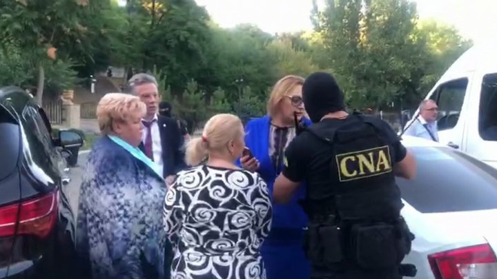 Exclusive video: Reghina Apostolova detained and escorted to CNA