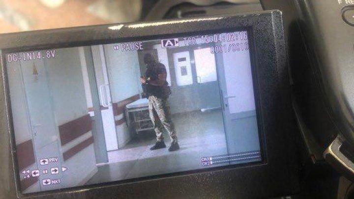 Reghina Apostolova, guarded by CNA officers at the hospital (PHOTOS)