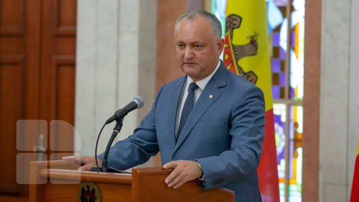 Why Acting General Prosecutor Robu attends parliament meeting? Dodon explains