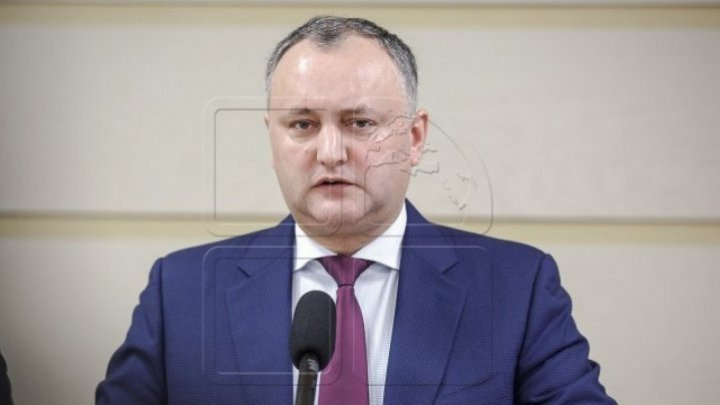 The state president Igor Dodon will pay a two-day visit to Brussels to meet multiple EU, NATO and Belgium Senate officials