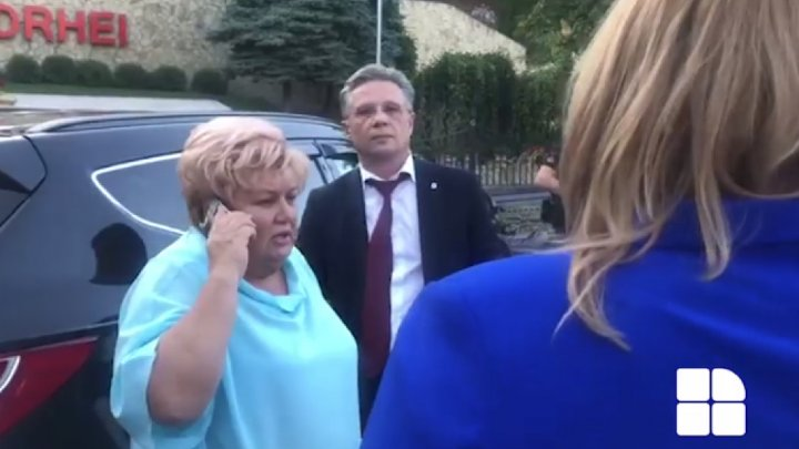 Reghina Apostolova suffered a stroke and was transported to the Emergency Hospital of the Capital