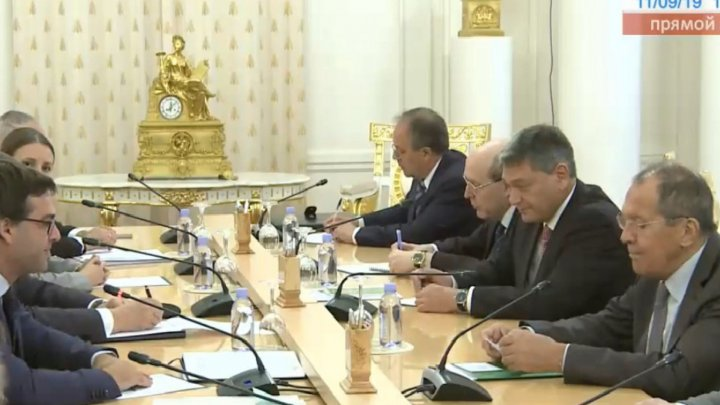 Nikholai Nikholaevich Popescu at the meeting with Serghei Lavrov: I thank you for your invitation. For us, this is a chance