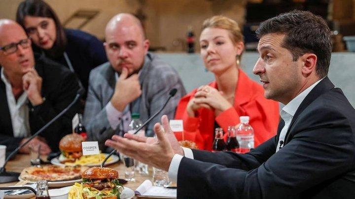 Ukrainian President 'breaks record' for holding the world's longest news conference