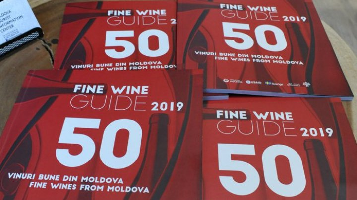 50 Good Moldovan Wines presented at the Tourist Information Centre