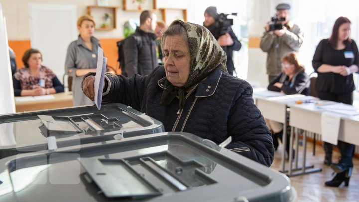 #ALEGEPUBLIKA. General local election held in Moldova