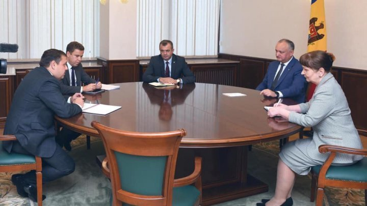 President Igor Dodon met with representatives of IMF Mission