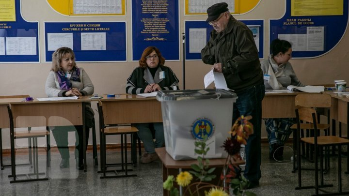 #ALEGEPUBLIKA. Nearly 60,000 Moldovan citizens express vote in new parliamentary elections