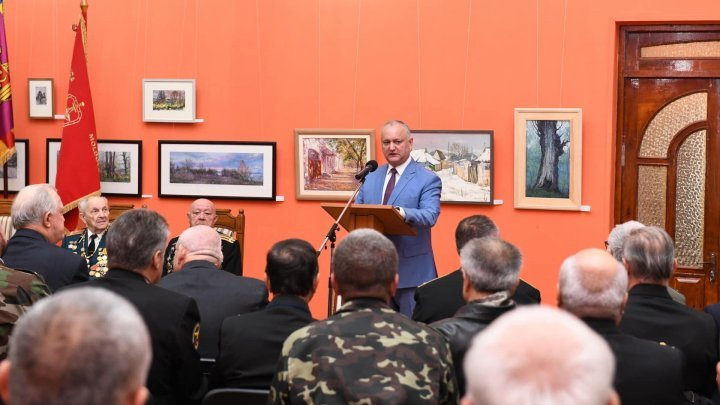 President Dodon advocates for new museum where Russian Minister Shoygu's war flag is exhibited