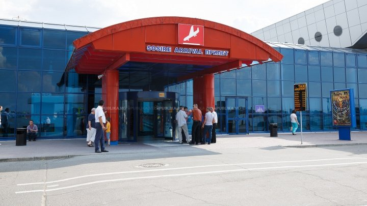 Heightened security at Chisinau International Airport due to COVID-19