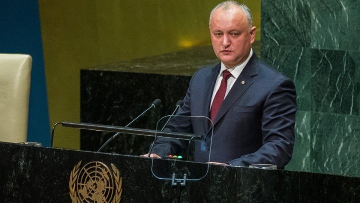 Association Parliament 90: President Igor Dodon's speech at UN General Assembly is contrary to the Declaration of Independence