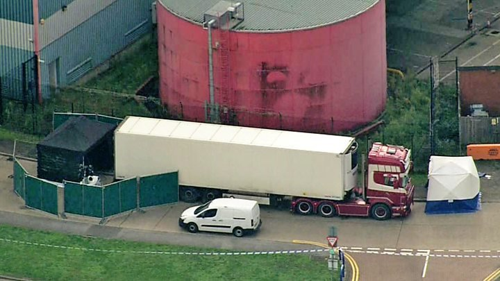 39 dead bodies found in UK truck container travelling from Bulgaria