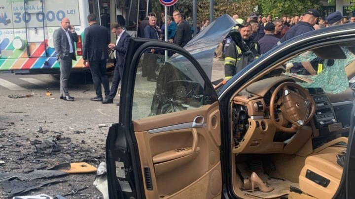 Porsche driver who caused Monday's traffic accident was drunk driving. What was her blood alcohol level?
