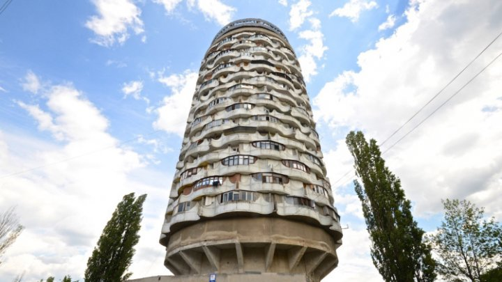 Chisinau's tallest building Romashka Tower named as the ugliest in the world