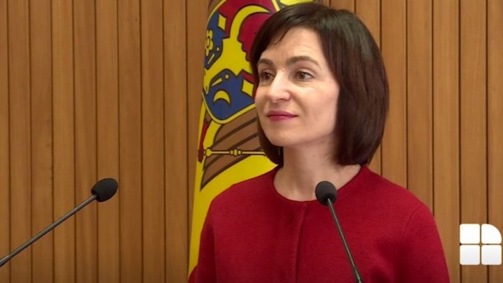 PM Maia Sandu: President Dodon is unallowed to exert influence over Government structure