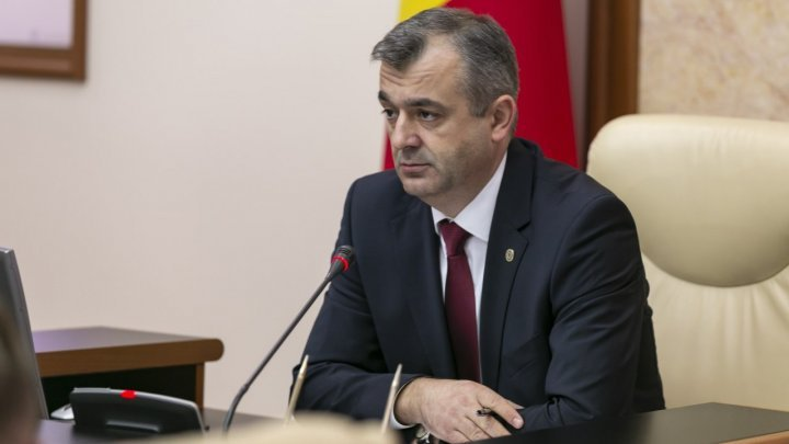 Moldovan state budget when Ion Chicu was appointed as prime minister
