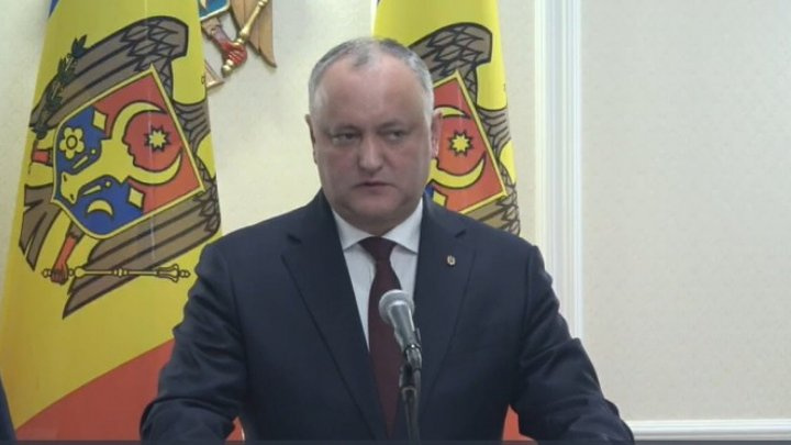President Dodon on PSRM-PDM coalition and government reshuffle