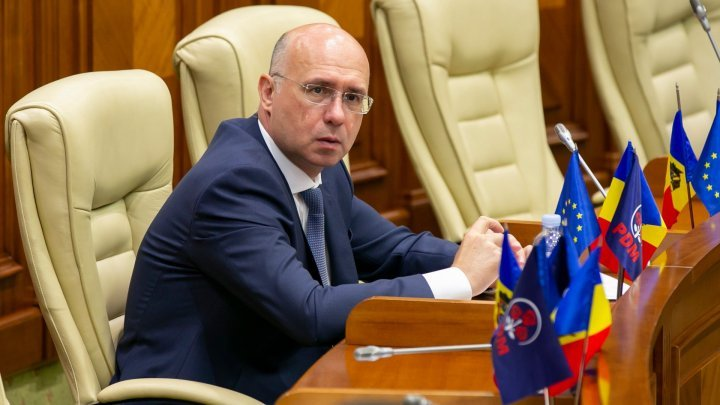 Pavel Filip on possible coalition PDM-PSRM and relations with PAS, PPDA
