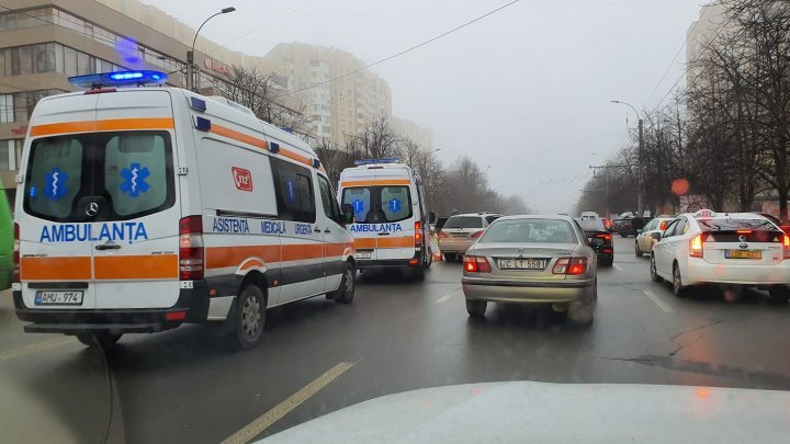 Driver died after heart attack behind the wheel in Chisinau