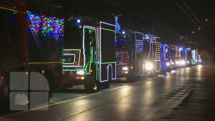 Christmas Caravan of Rescuers and Firefighters set off its journey (photo report)