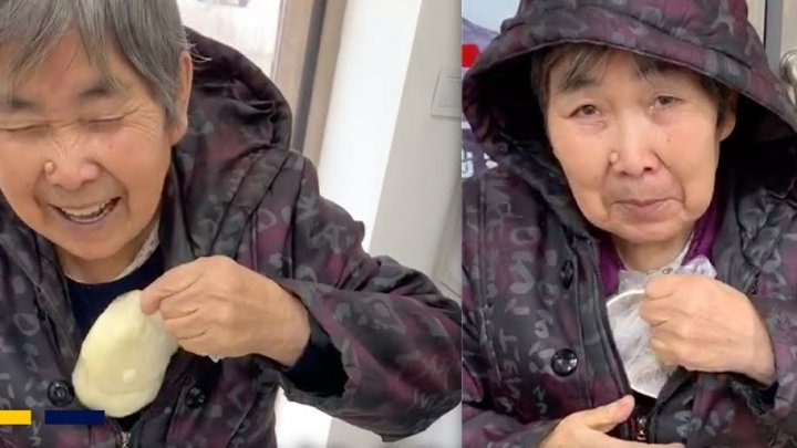 Chinese grandmother's heartwarming food delivery for grandson makes her an internet star