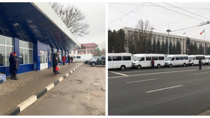 Moldova traffic paralyzed on 'black Wednesday': All-out protest over transport tariff raise