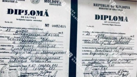 Did Adrian Boldurescu resign due to his forged bachelor diploma?